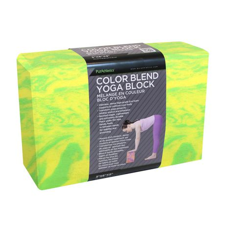 Zenzation Athletics Colour Blend 3x6x9-inch Yoga Block - image 1 of 1