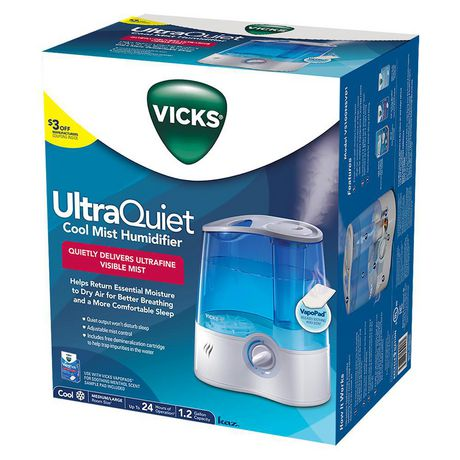 Vicks V5100NS-CAN UltraQuiet Cool Mist Humidifier - image 3 of 4
