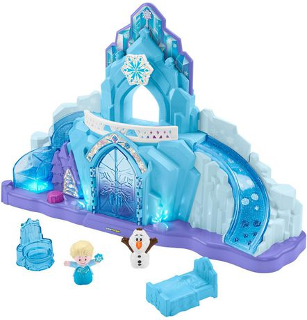 Little People Disney La Reine des Neiges Le Palais de Glace d'Elsa - Version Anglaise - image 8 de 9