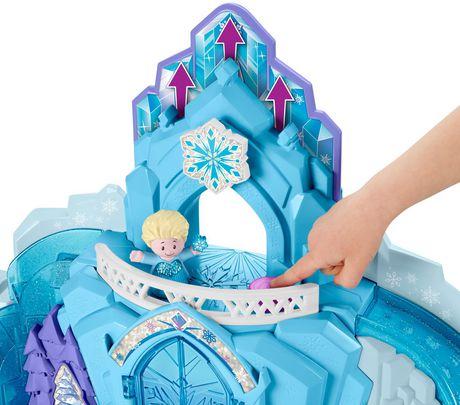 Little People Disney La Reine des Neiges Le Palais de Glace d'Elsa - Version Anglaise - image 4 de 9