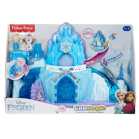 Little People Disney La Reine des Neiges Le Palais de Glace d'Elsa - Version Anglaise - image 6 de 9
