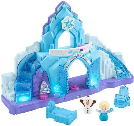 Little People Disney La Reine des Neiges Le Palais de Glace d'Elsa - Version Anglaise - image 7 de 9
