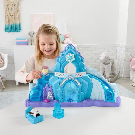 Little People Disney La Reine des Neiges Le Palais de Glace d'Elsa - Version Anglaise - image 2 de 9