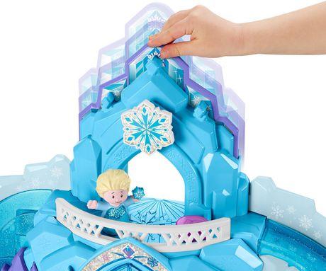 Little People Disney La Reine des Neiges Le Palais de Glace d'Elsa - Version Anglaise - image 3 de 9