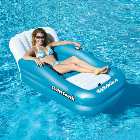 matelas gonflable surdimensionn coolercouch de swimline pour piscines walmart canada. Black Bedroom Furniture Sets. Home Design Ideas