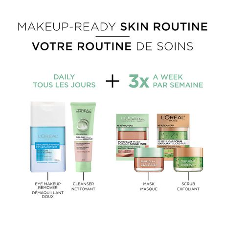 L'Oreal Paris Pure-Clay Masque nettoyant avec 3 Argiles Minérales + Algues Rouges pour Peau Rugueuse - image 6 de 7