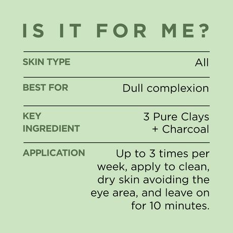 L'Oreal Paris Pure-Clay Cleansing Mask with 3 Mineral Clays + Charcoal, Energizes and Brightens Dull Skin - image 3 of 9