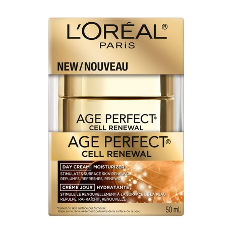 L'Oréal Paris Age Perfect Cell Renewal Day Face Cream Moisturizer with LHA, Anti-Aging, 50 ML - image 2 of 7