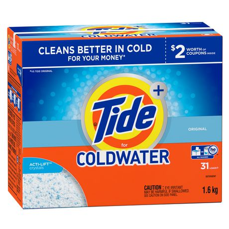 Tide He Turbo For Coldwater Original Scent Powder Laundry