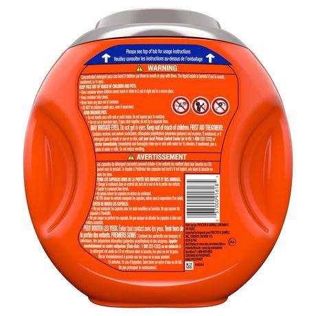 Tide PODS™ Plus Febreze™ Laundry Detergent Pacs, Botanical Rain Scent, 54-count tub - image 2 of 6