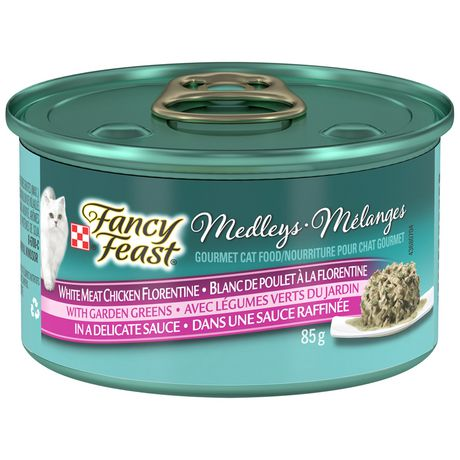 Purina(MD) Fancy Feast(MD) Medleys(MD) Blanc de Poulet à la Florentine Nourriture pour Chats - image 1 de 4