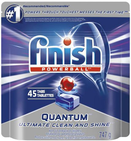 Finish 174 Powerball Quantum Max Dishwasher Detergent