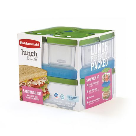 Rubbermaid Lunchblox Sandwich Kit with icepack, 1 kit - image 2 of 6
