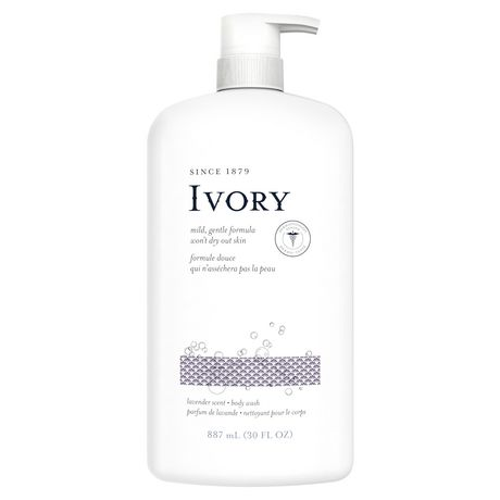 Ivory Clean Lavender Body Wash - image 1 of 4