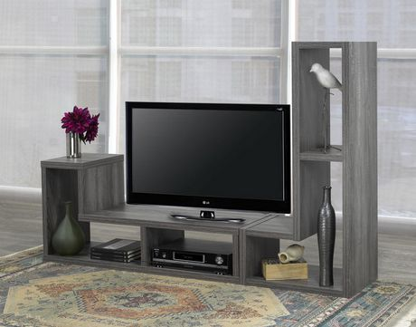 Brassex Inc Multiple Configuration TV Stand, Grey - image 2 of 8