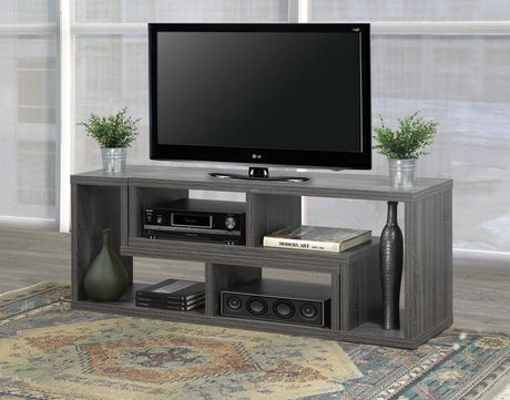 Brassex Inc Multiple Configuration TV Stand, Grey - image 3 of 8