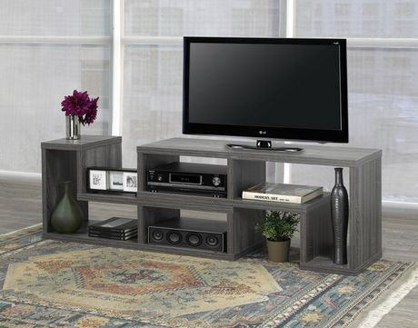 Brassex Inc Multiple Configuration TV Stand, Grey - image 6 of 8