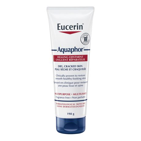 Eucerin Aquaphor Healing Ointment, Moisturizing Ointment for Use After Hand Sanitizer or Hand Soap - image 1 of 7