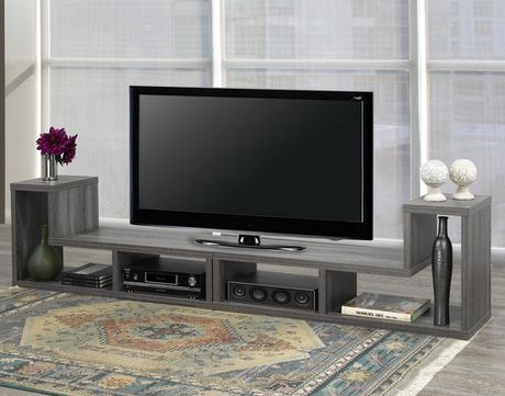 Brassex Inc Multiple Configuration TV Stand, Grey - image 5 of 8