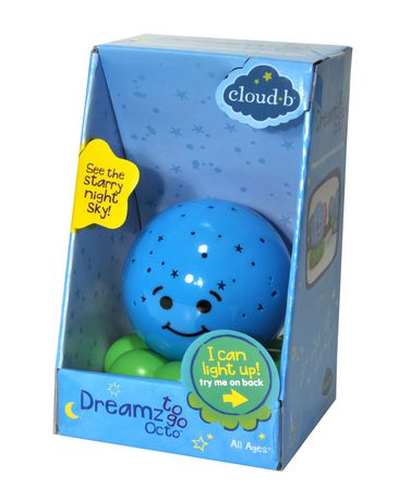 Cloud B Blue Dreamz to Go Octo Toy - image 2 of 4