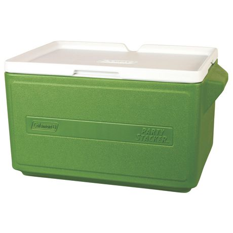 Glacière superposable de 31 litres - verte - image 3 de 3