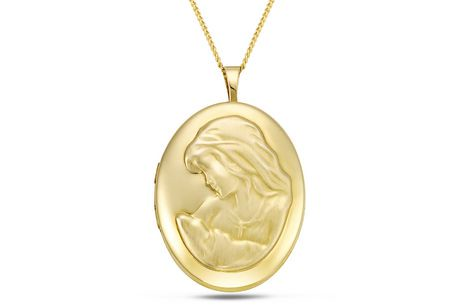 Quintessential 14kt locket walmart canada mozeypictures Images