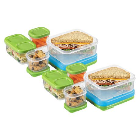 Rubbermaid Lunchblox Sandwich Kit with icepack, 1 kit - image 5 of 6