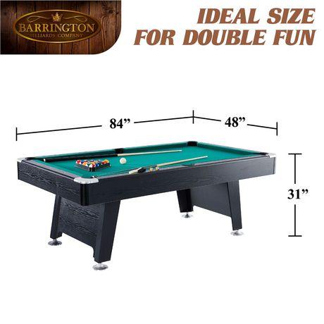 Cool Barrington 84 Inch Arcade Billiard Pool Table With Bonus Dartboard Set Download Free Architecture Designs Scobabritishbridgeorg