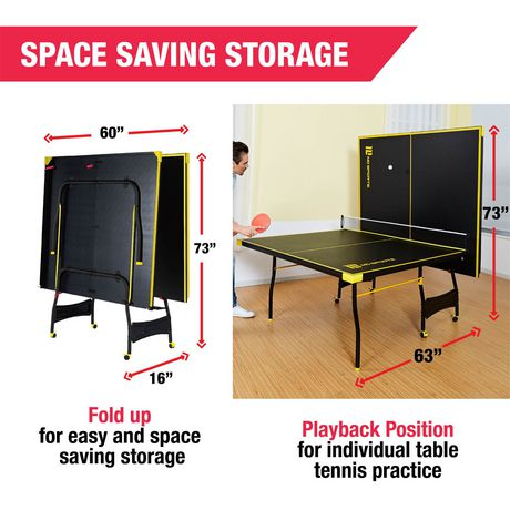 Medal Sports Official Size Table Tennis Table - image 7 of 9