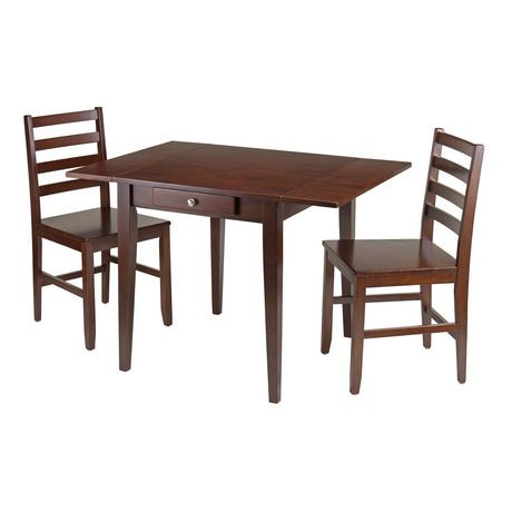 Hamilton 3pc Dining Table With Chairs Item 94366