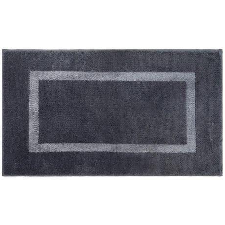 hometrends square blue bath rug | walmart canada