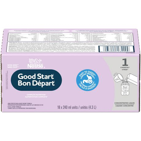 NESTLÉ® GOOD START® 1 Baby Formula, Concentrated Liquid - New Look - image 1 of 8