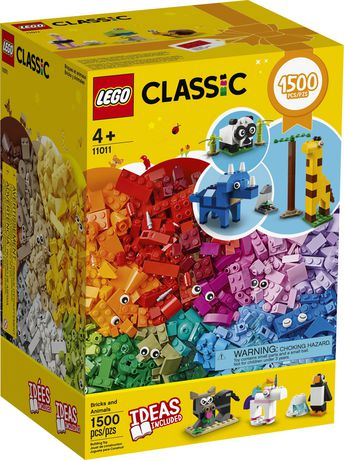 LEGO Classic Bricks and Animals 11011 Toy Building Kit - image 2 of 6