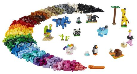 LEGO Classic Bricks and Animals 11011 Toy Building Kit - image 3 of 6