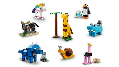 LEGO Classic Bricks and Animals 11011 Toy Building Kit - image 5 of 6