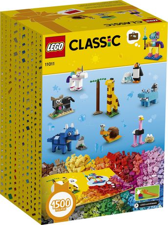 LEGO Classic Bricks and Animals 11011 Toy Building Kit - image 6 of 6