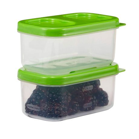 Rubbermaid LunchBlox Side Container, Green, Pack of 2 - image 4 of 4