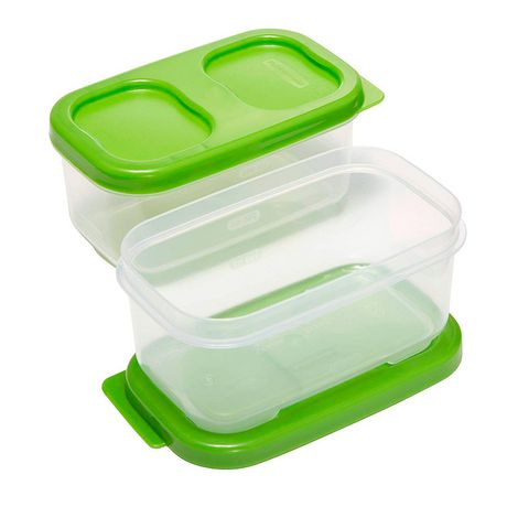 Rubbermaid LunchBlox Side Container, Green, Pack of 2 - image 3 of 4