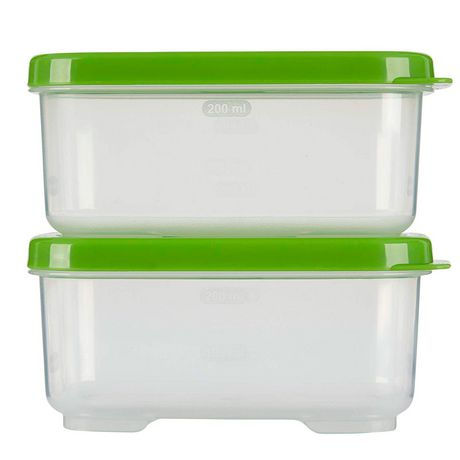 Rubbermaid LunchBlox Side Container, Green, Pack of 2 - image 2 of 4