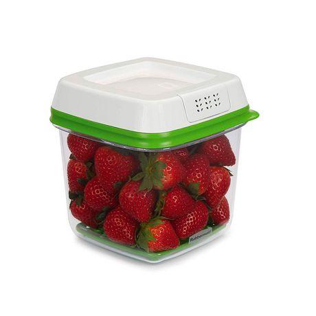 Ensemble de 3 pièces de contenants pour garder des produits agricoles Freshworks de Rubbermaid - image 4 de 5