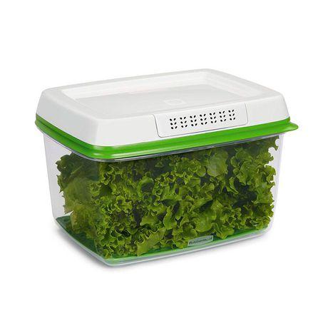 Ensemble de 3 pièces de contenants pour garder des produits agricoles Freshworks de Rubbermaid - image 3 de 5