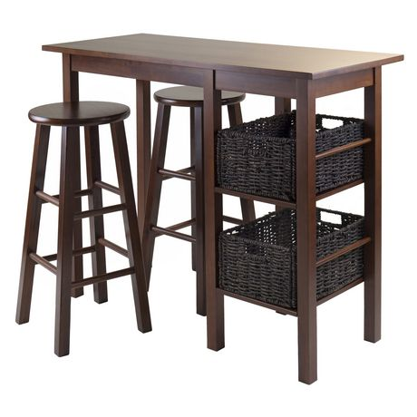 Egan 5pc table with stools and baskets, item 94560 - image 1 of 2