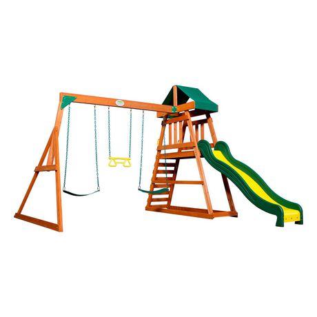 Backyard Discovery Prescott Swing Set | Walmart Canada