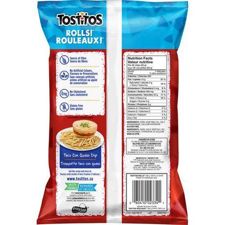 Chips tortilla et au maïs blanc de premier choix Rouleaux! de Tostitos - image 2 de 5