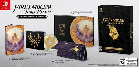 Fire Emblem: Three Houses - Seasons of Warfare Edition (Nintendo Switch) - image 1 of 1