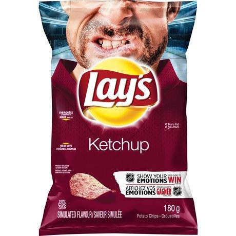 Lay's Ketchup Potato Chips   Walmart Canada