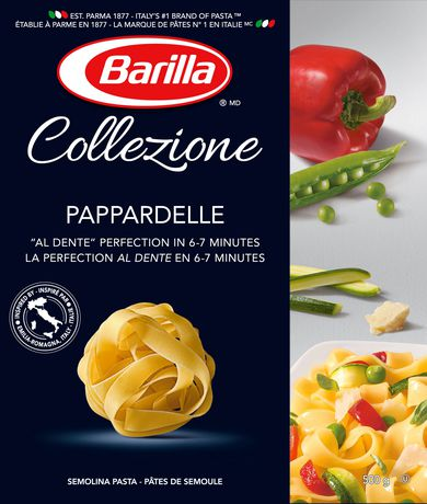 barilla collezione pappardelle semolina pasta walmart canada