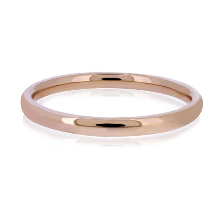 Rose Gold Wedding Band.Pure316 Women S Rose Gold Plated Wedding Band Ring