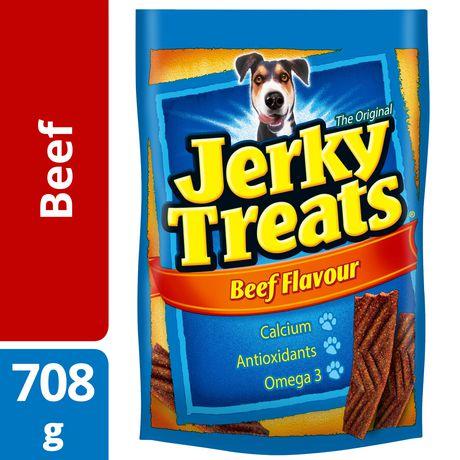 Jerky Treats Beef Flavour Dog Snacks 708g | Walmart Canada