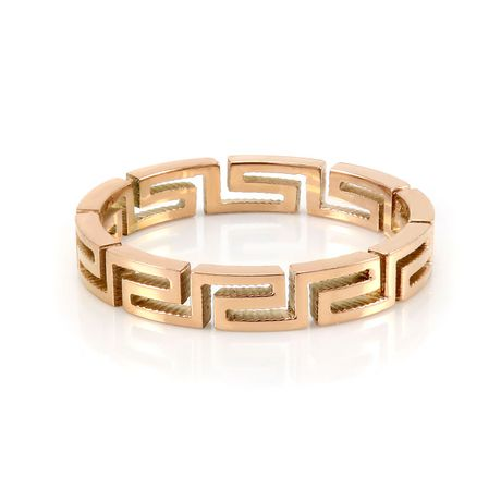 Pure316 Women's Rose Gold Plated Fancy Layered Ring - image 1 of 3